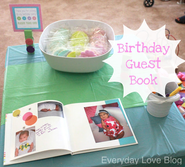 Cute as a Button Birthday {part one}  Leah With Love ~ 013005_Birthday Party Guest Ideas