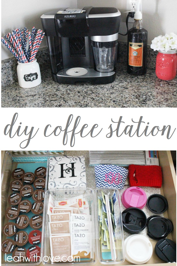 Diy Coffee Station Leah With Love