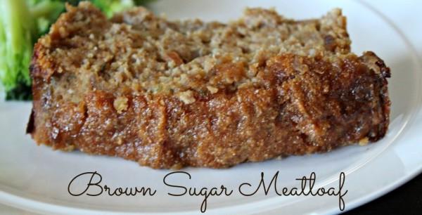 Brown Sugar Meatloaf - Leah With Love