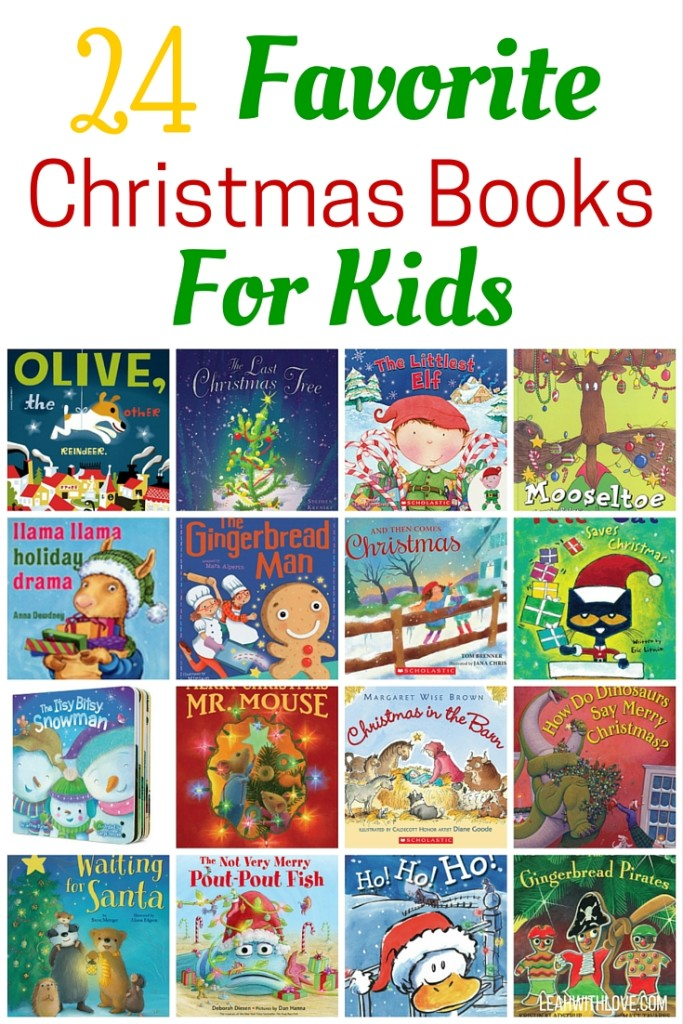 24 Kids Christmas Books - Leah With Love
