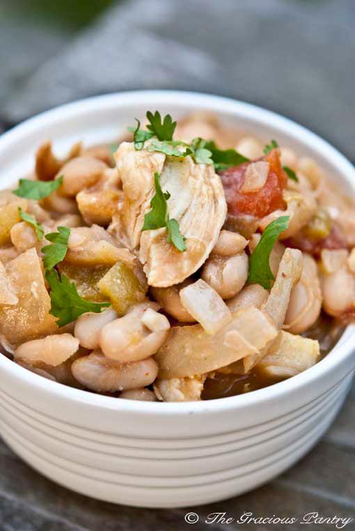 White Chili With Roast Turkey Or Chicken Recipe — Dishmaps