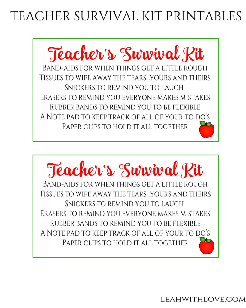 teachers printable